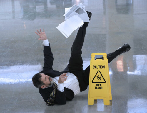 Minimize slip and fall incidents on your business property