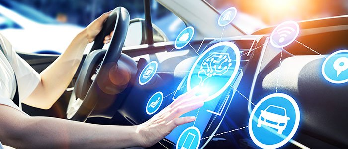 Technology in car