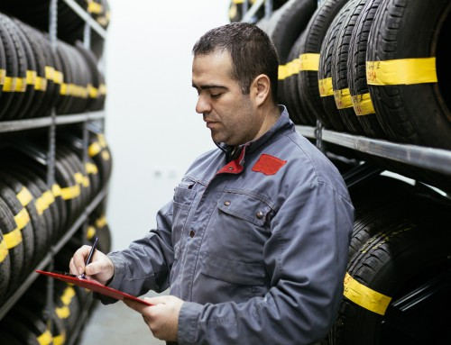 What are some tire business safety tips?
