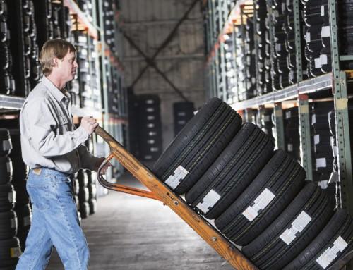 Conseils sur l'entreposage des pneus pour éviter que votre entreprise ne dérape
