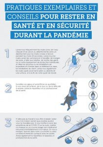 FED- Pratiques exemplaires et conseils pour rester en santé et en sécurité durant la pandémie
